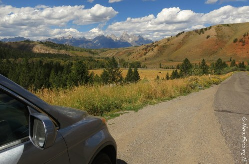 View from the Gros Ventre Wilderness
