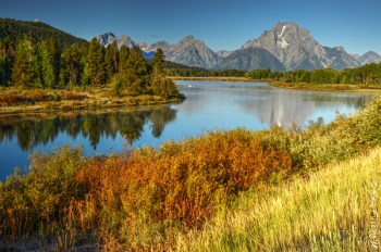 Oxbow Bend mid-morning
