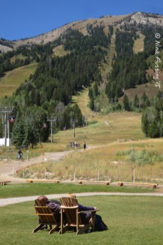 Take a load off at Teton Village