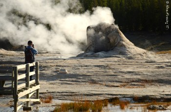 Paul takes a shot at Grand Geyser