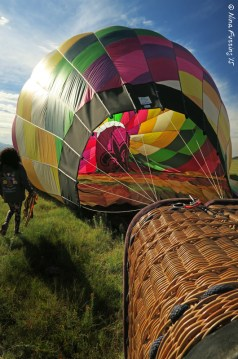 Balloon down