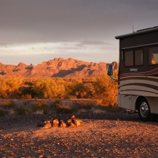 Boondocking Site Review – Plomosa Road, Quartzsite, AZ