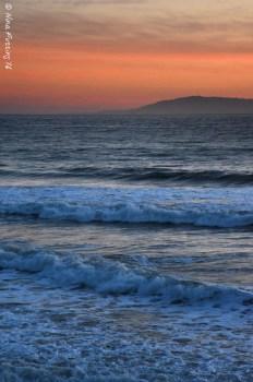 A subtle Rincon sunset