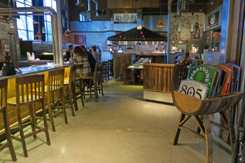 The airy interior of Firestone taproom
