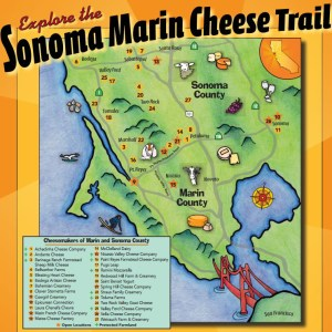 The Sonoma Cheese Trail. Who knew?