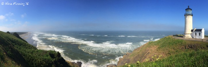 Panorama from North Head Lighthouse