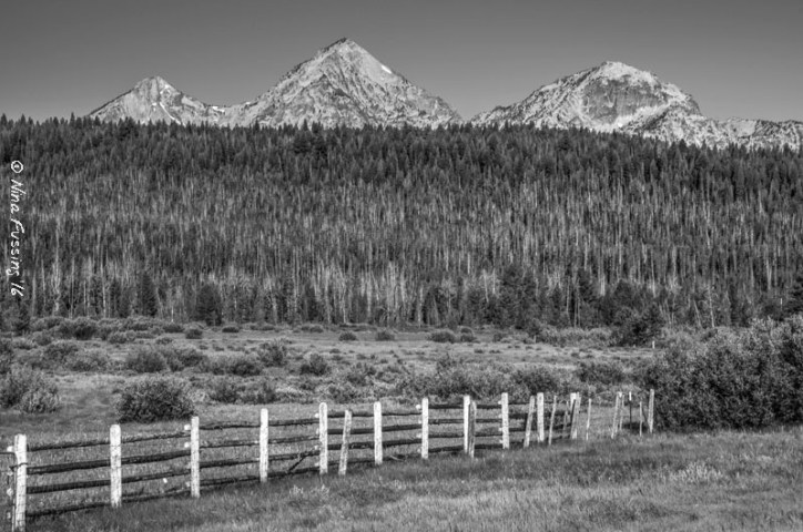 Fences and mountains