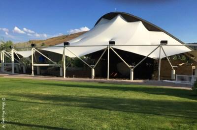The grassy picnic area at Sun Valley Pavillion