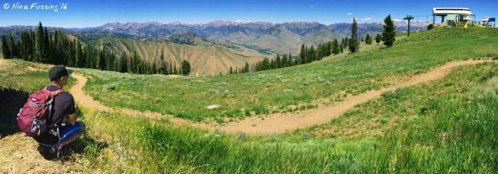 Panorama from Bald Mountain