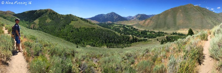 Panorama from Proctor Mountain Trail