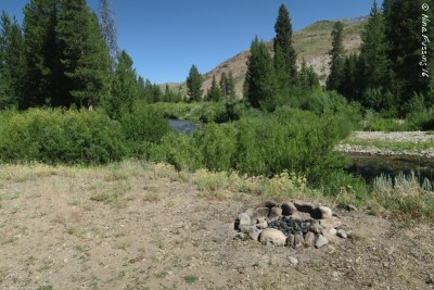 One of the many gorgeous boondocking sites in the area