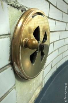 Brass vents polished fine
