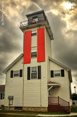 Cheboygan River Front Range Light