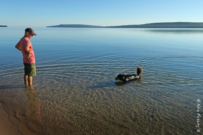 Water therapy in Lake Superior