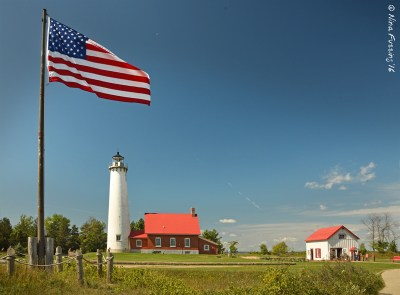 Gorgeous Tawas Point Lighthouse