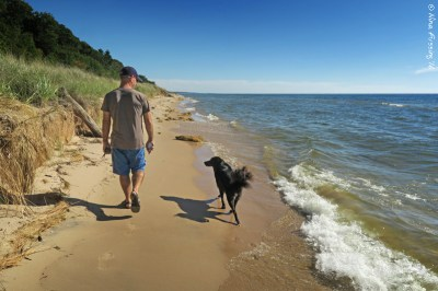 Beautiful and dog-friendly Muskegon. Our kinda place!