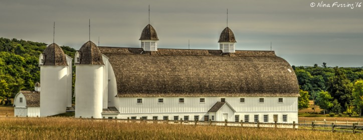We DID get to see DH Day Barn, from the road...
