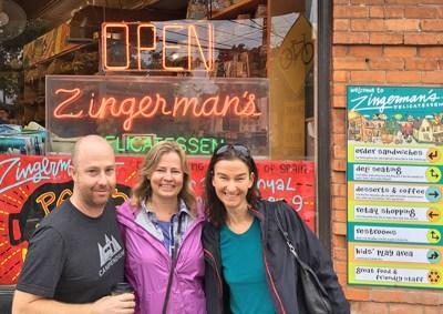 Breakfast date w/ Leigh & Brian at Zingermans