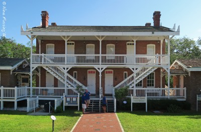 The keepers house