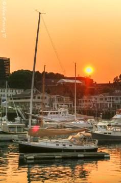 Sunset in Camden