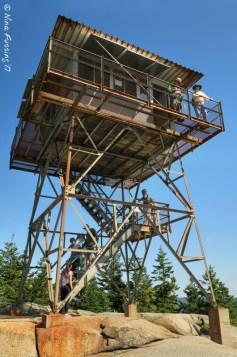 Fire tower on Beech Mountain