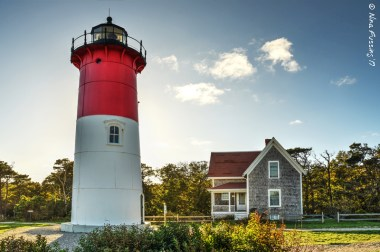 Nauset Light late afternoon