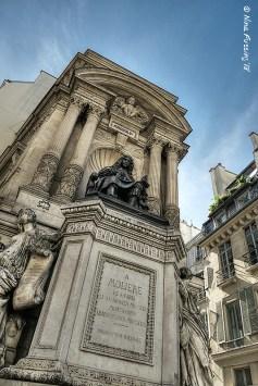 A monument to Molière