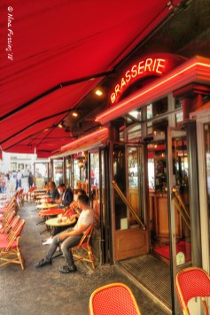 One of many brasseries