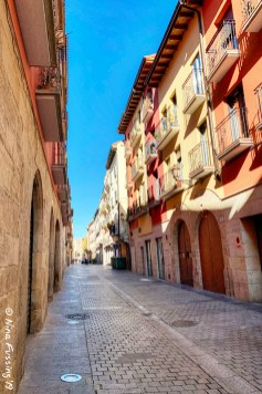 Old town Logroño color