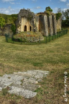 The ruins of the Rudel Castle