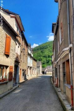 Quiet alleys in Sentein