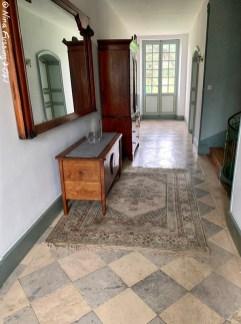 The upstairs hallway