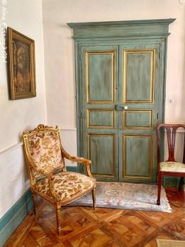 Downstairs doors