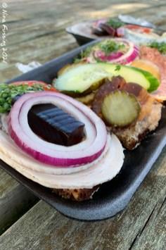 Smørrebrød from Slagter Stig