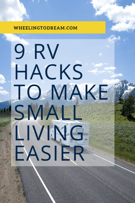 9 rv hacks to make small living easier