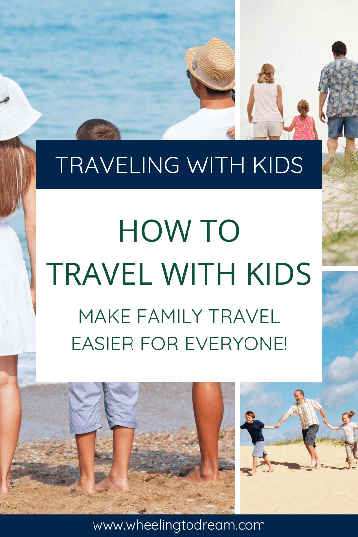 Tips I was looking for! Traveling with kids can be extraordinary until it\'s not. Learn how to travel with kids and make it stress free. These family travel tips will help you make your next family vacation easier. We are a full-time travel family with kids and we have figured a few of these things out! #familytravel #travelwithfamily #traveltips #fulltimetravel #rvlifestyle