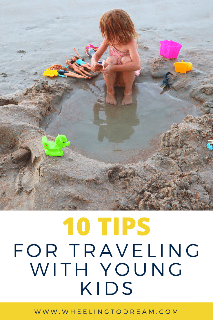 Traveling with young kids is a wonderful experience. When we first started we were looking for tips for traveling with kids. This is the most practical list of tips we have found! We have finally found family travel hacks that work for us. Make your family travel fun! Find all of the fun family activities while traveling for your yearly family vacation. We love our family road trips with kids now! #familyvacation #familytrips #familytraveltips #familytravelhacks #familyfun
