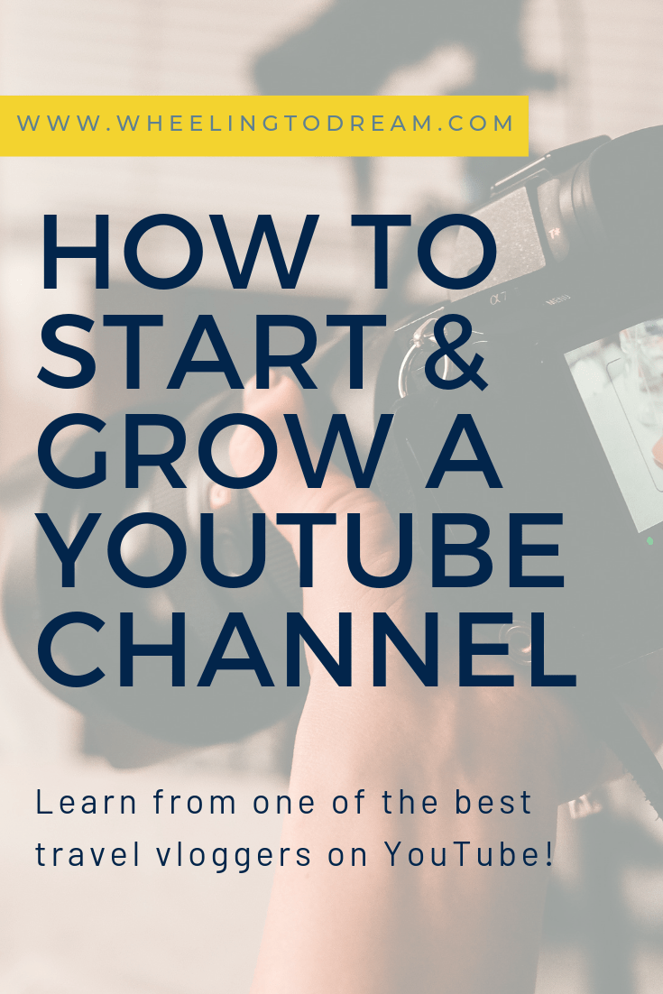 Have you ever wondered how to start a YouTube channel and if it would even be worth it? Perhaps you want to start a travel blog but you aren\'t sure if you can keep up with the content writing? Learn how to start a travel vlog from one of the best travel vlogging families on YouTube. You will learn how to make YouTube videos, how to edit YouTube videos and how to market your youtube channel. #youtube #youtubechannel #digitalmarketing #videotips #videomarketing