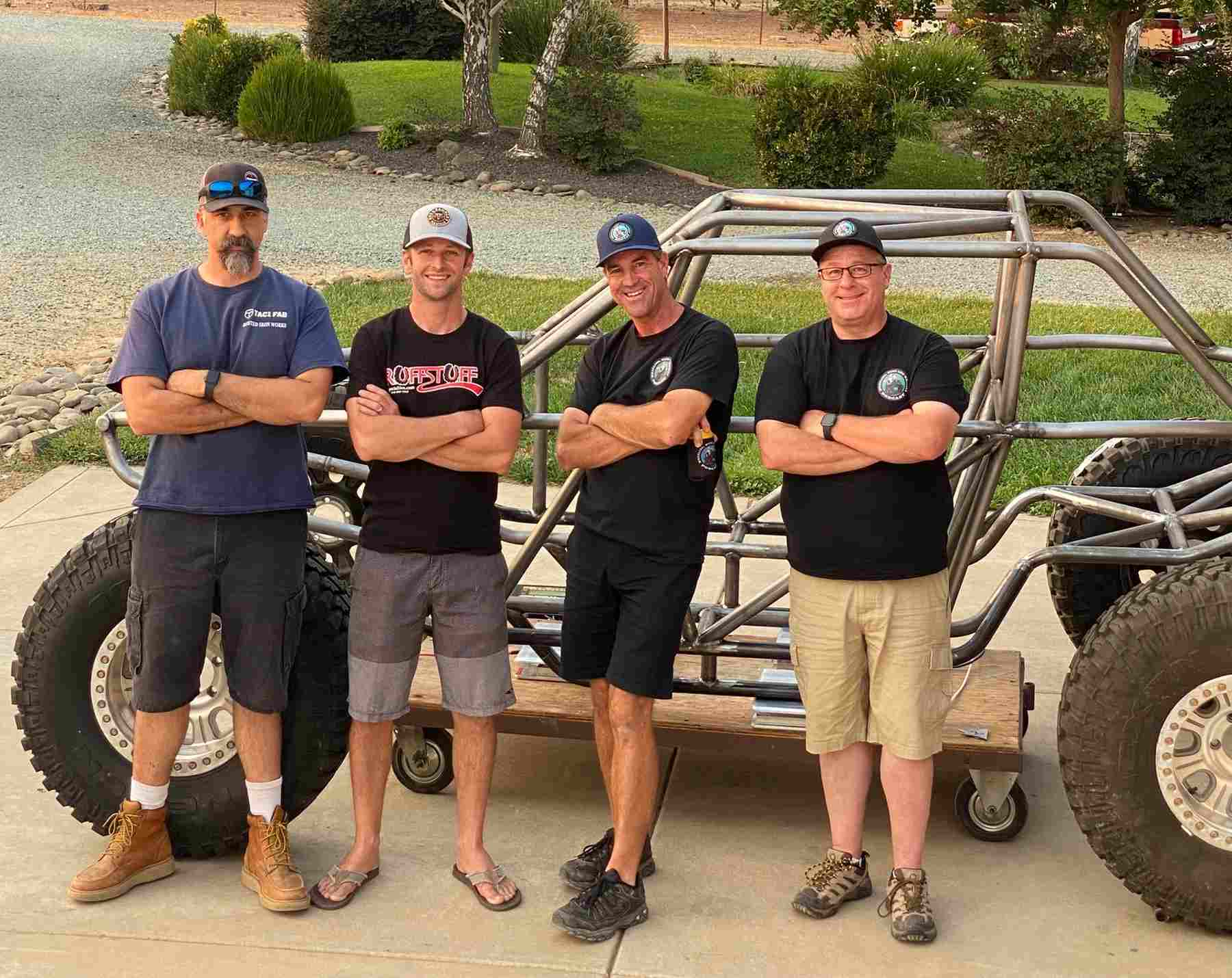 Episode 124: The Birth of an Ultra4 Racecar with Tac1Fab and Ultra4Jones!