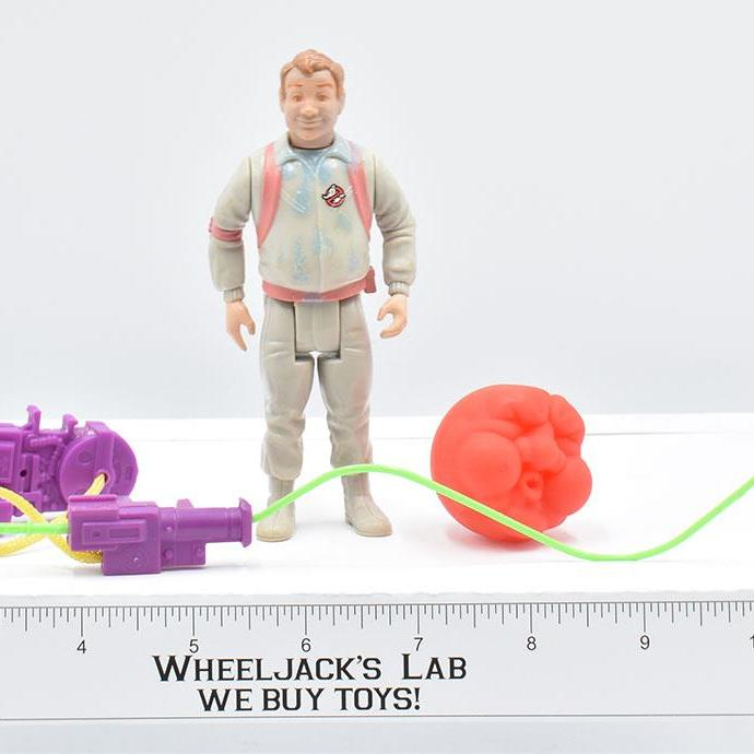 Kenner 1990 The Real Ghostbusters Ray Stanz Red Variant Slimed Heroes