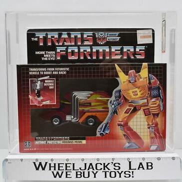 AFA Graded 1986 Transformers Rodimus