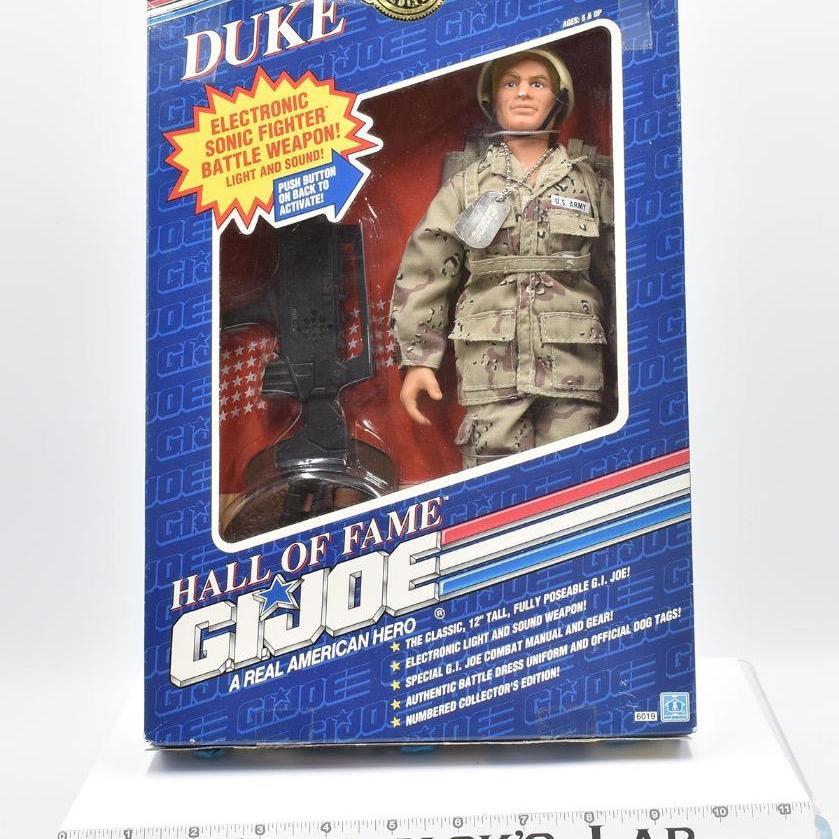 Hasbro 1991 GI Joe Duke Hall of Fame