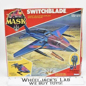 Kenner 1985 M.A.S.K. Switchblade Miles Mayhem