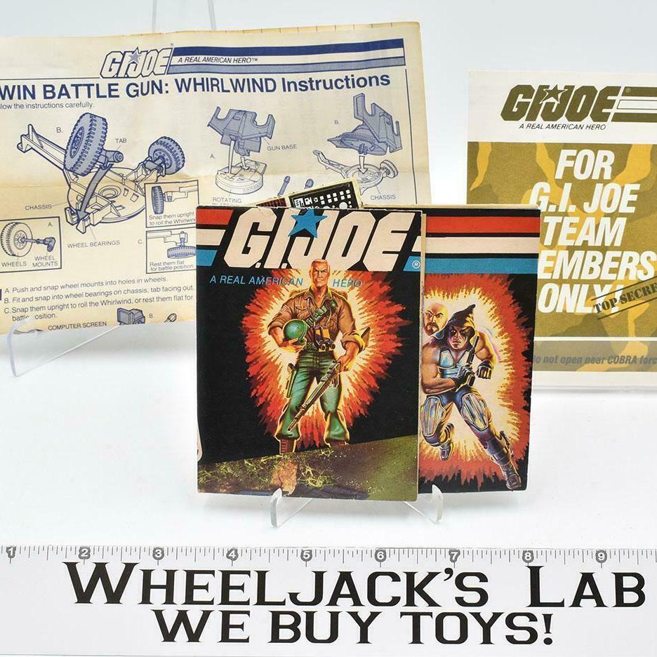 Hasbro 1983 G.I. Joe Twin Battle Gun