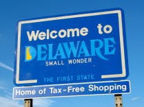 USA Welcome signs - Delaware