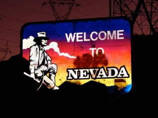 USA Welcome signs - Nevada