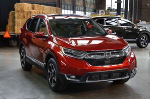 Associated Press The 2017 Honda CR-V, in Detroit. America's family car is no longer the Toyota Camry or some other midsize car.