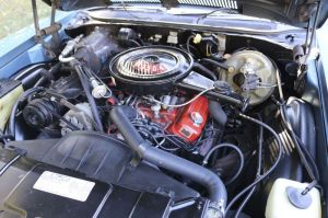 The 1972 Buick Skylark is powered by a 350-cubic-inch V8 engine. (Bud Wilkinson Republican-American)