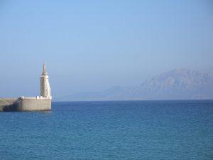 Statue und Marocco