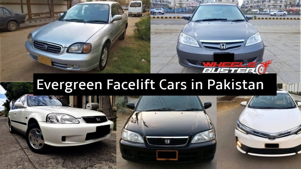 facelifts cars in pakistan